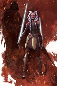 Star-Wars-Rebels-Grey-Gray-Jedi-Warrior-Ahsoka-Tano-Vader-Print-A-Dark-Truth-Art