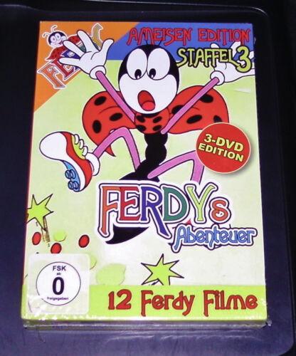1 von 1 - FREDY´s ABENTEUER  STAFFFEL 3  12 FOLGEN 3 DVD SET SCHNELLER VERSAND NEU & OVP