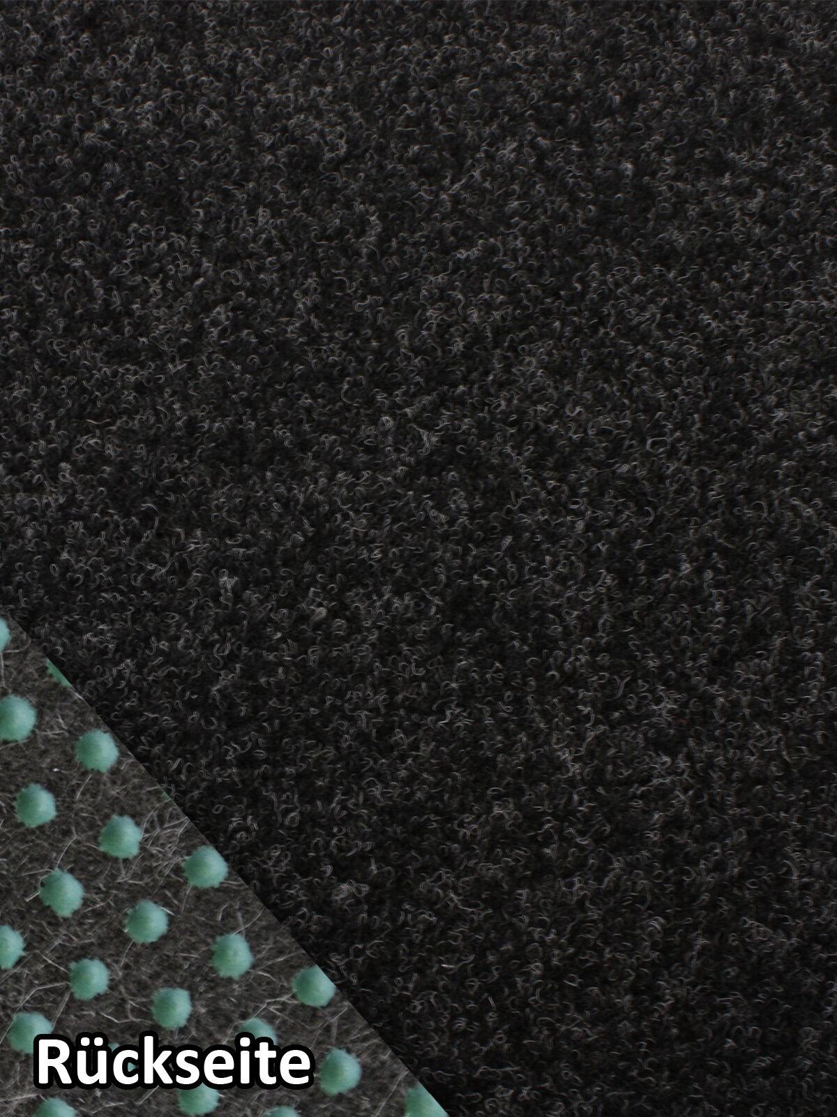 Rasenteppich Kunstrasen Comfort + schwarz grau 400x550 cm