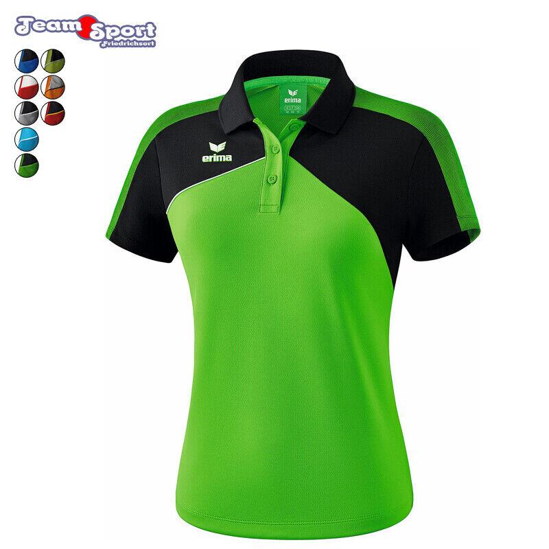 Erima Premium One 2.0 Poloshirt - Damen   Fussball Fitness Handball Freizeit  | Viele Stile