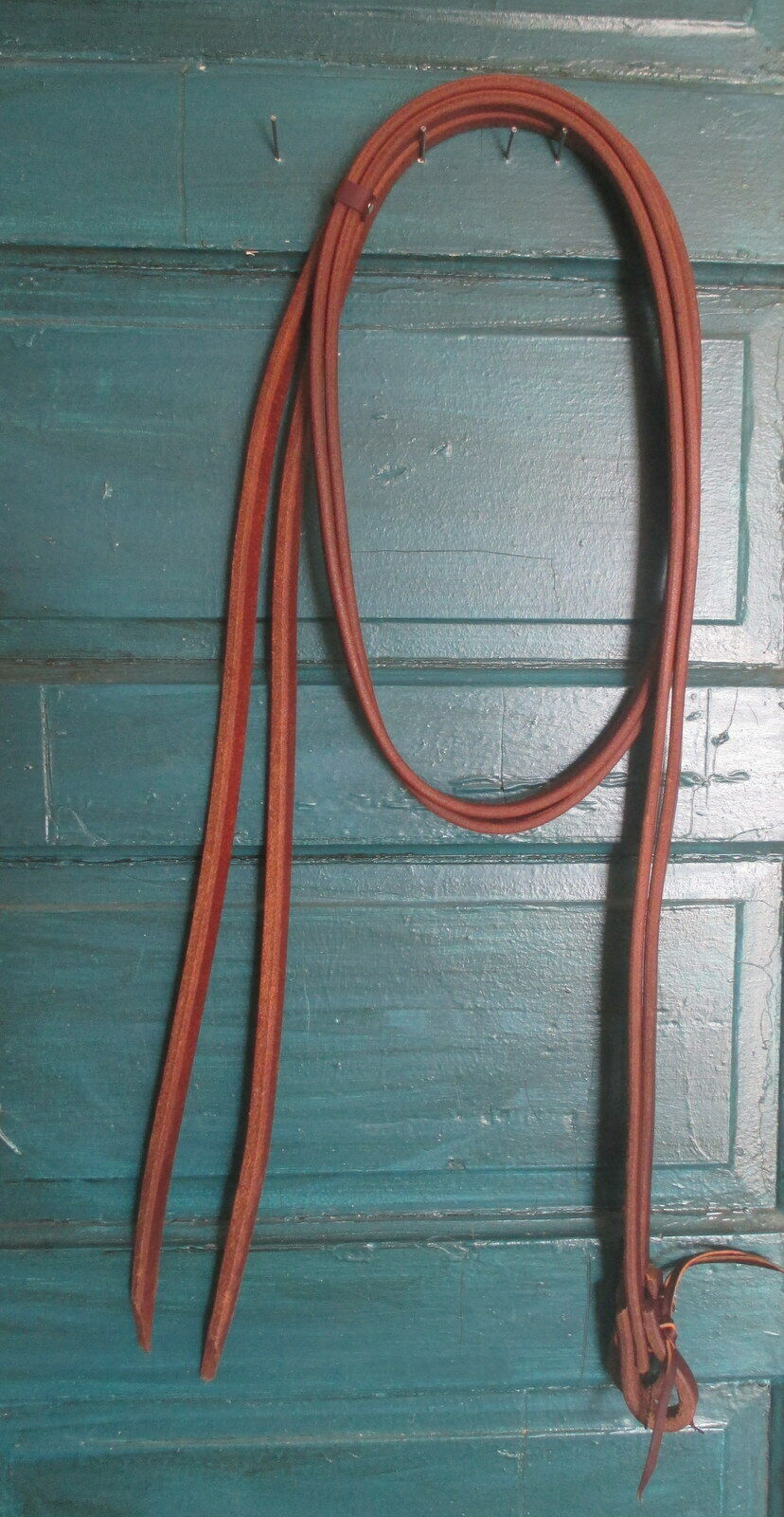 Genuine Handmade Oiled Heavy Harness Leather Split Reins 1 2 x 8