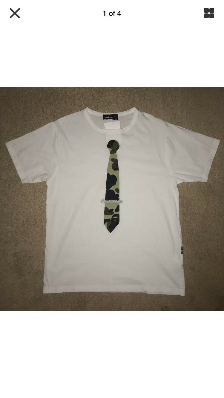 Mr A Bathing Ape T-Shirt With Tags Size L