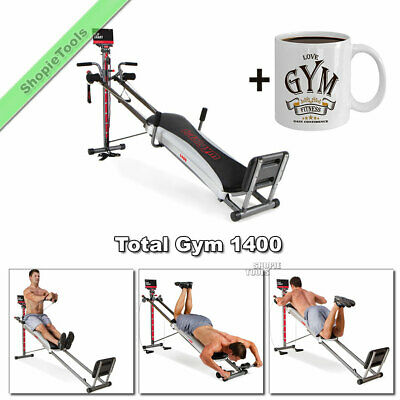 total gym 1400 workout machine build body muscle home