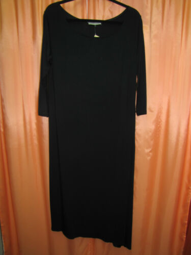 SIZES 8 NEW DOWN TO EARTH GREY BAMBOO LONG DRESS!