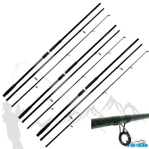 3 x Karpfenrute 3,60m 12 ft 3 Teile 2,75 lbs 80-120g WG Karpfen Angel Rute Hecht