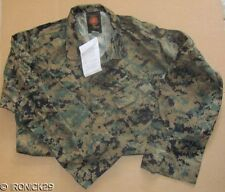 New USMC Woodland Digital Camo Shirt MCCUU BDU Authentic, Propper,  MED/REG