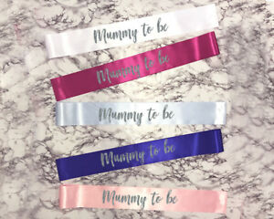 Mummy To Be Sash Baby Shower Gift Soon To Be Mummy Promoted To Mummy New Baby