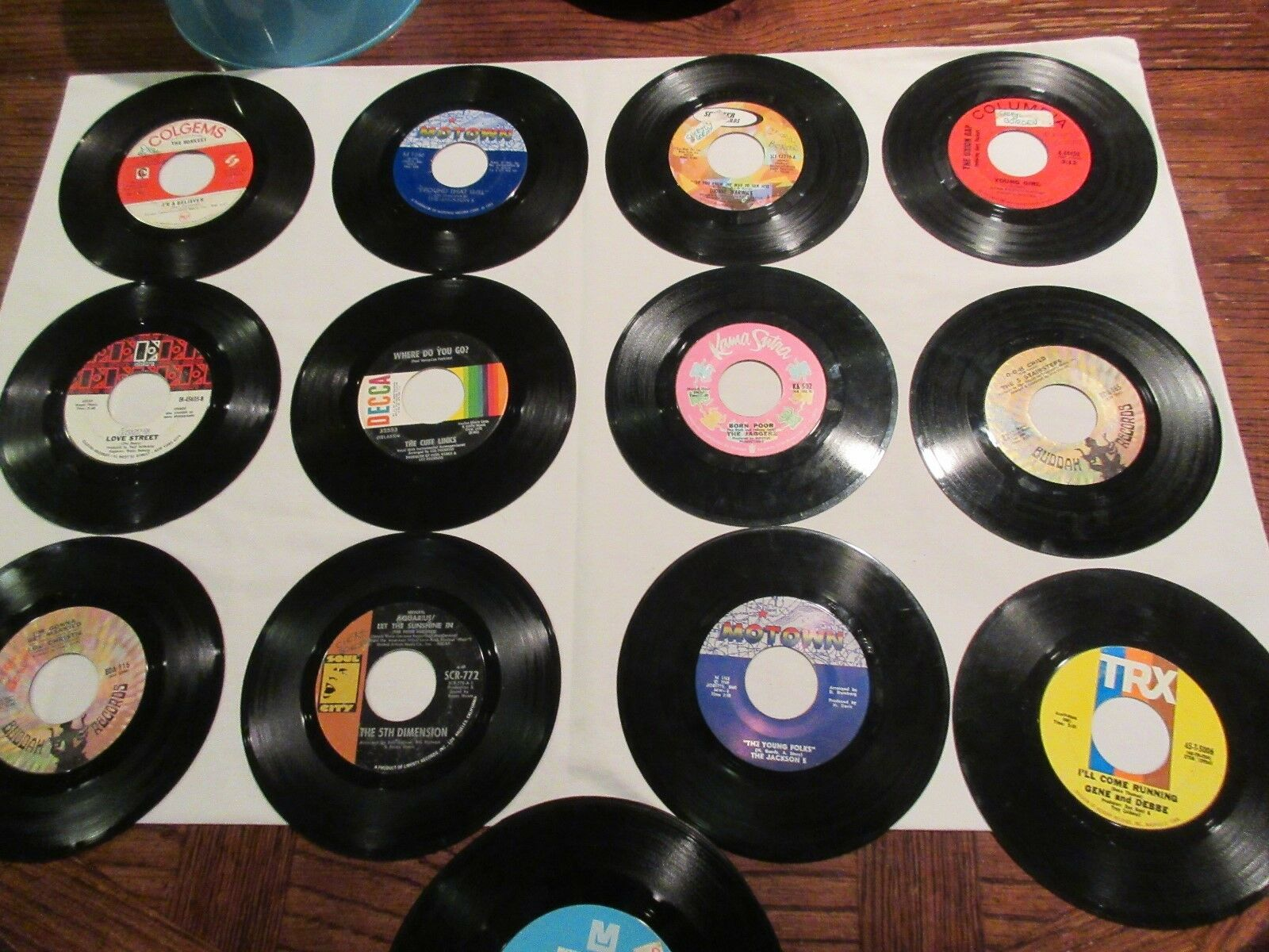 Records, 45 rpm, 44 Records In One Lot , Mixed Artists