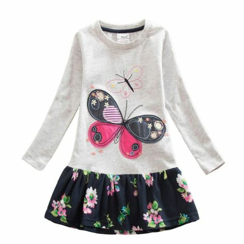 VIKITA Kids Girls Dress Baby Children Toddler Princess Dress Vestidos