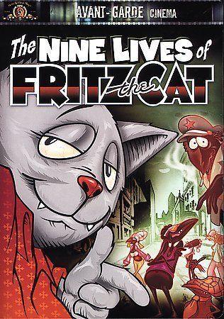 The Nine Lives Of Fritz The Cat Dvd 2001 Avant Garde Cinema For Sale Online Ebay