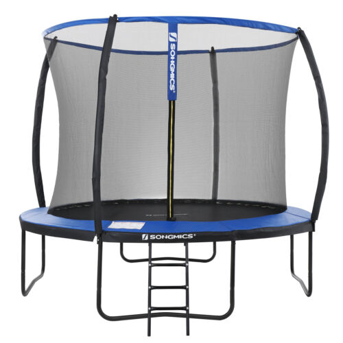 Trampoline 12 ft Round Trampoline Safety Net Enclosure TÜV Certificate STR12BK