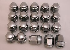 20 New Chrysler Grand Voyager LHS Factory OEM Polished Stainless Lug Nuts 12x1.5