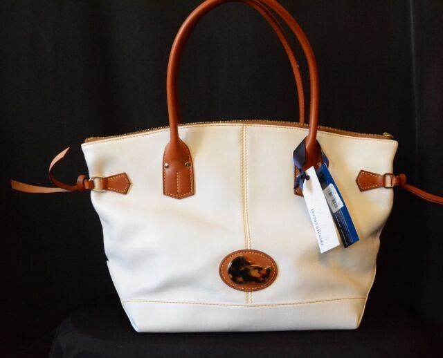 Dooney Bourke White Medium Champosa New With Tags