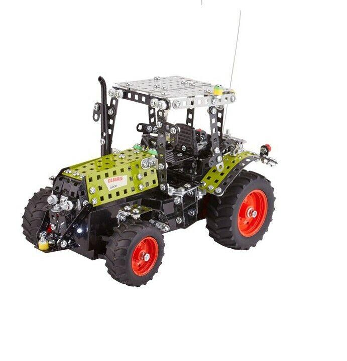 Metallbauset Traktor CLAAS ARION 430 648 tlg. von Tronico