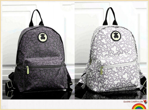 New Release Bear Backpack PU Bag Fashion Ladies Bag Zip School Bag Travel Bag