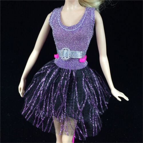 Handmade Dress Wedding Party Mini Gown Fashion Clothes For  Dolls