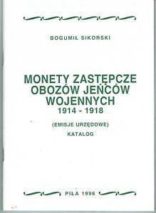Bogumil Sikorski, Notmünzen Der Kriegsgefangenenlager 1914-1918 Gesundheit Effektiv StäRken