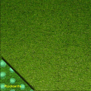 Rasenteppich Kunstrasen Comfort + grün 400x380 cm