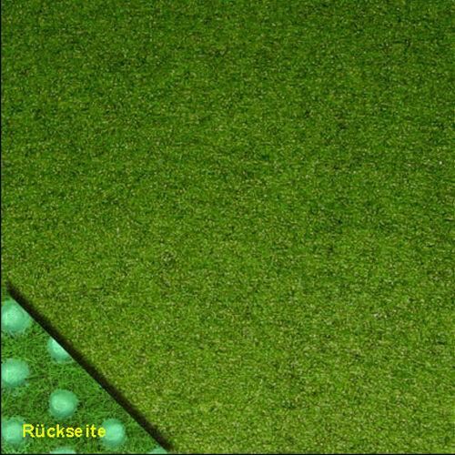 Rasenteppich Kunstrasen Comfort grün 400x490 cm