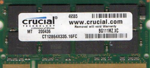 1GB Apple PowerBook G4 1GHz//1.33GHz//1.42GHz//1.5GHz//1.67GHz//A1013//A1046 Memory