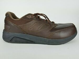 Details about New Balance 928v2 Brown Leather Walking Sneakers Athetic Men's Shoe 14 2E Wide