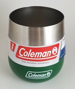New-Coleman-2010842-Claret-13-Oz-Insulated-Tumbler-Glass-Heritage-Green