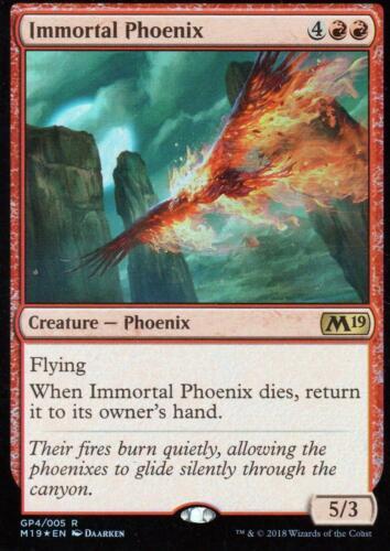 Immortal Phoenix FOILNMCore 2019 PromoMagic MTG