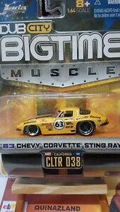 Jada-Toys-Bigtime-039-63-Chevy-Corvette-Sting-Ray-9949