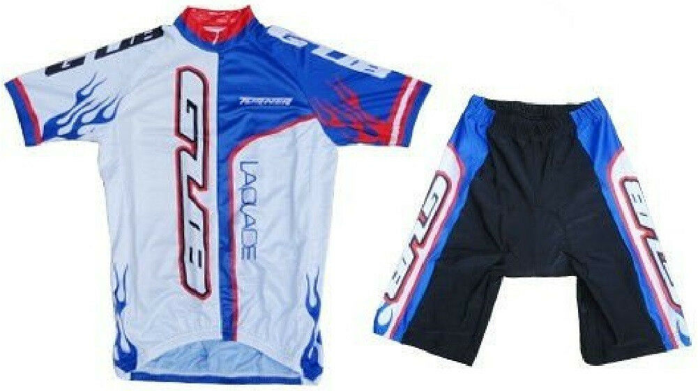 GUB Cycling Jersey and Short Set 12 Zipper, Lycra, Spandex blubianca 3XL