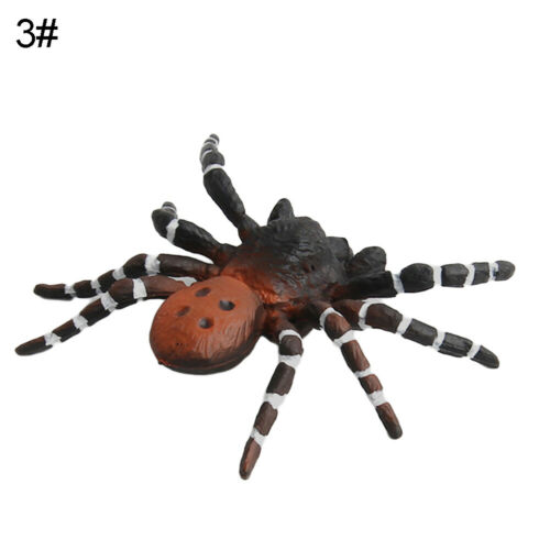 Funny Realistic 3D Spider Wild Insect Model Prank Trick Prop Kids Xmas Gift