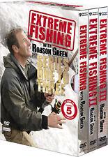Extreme Fishing . The Complete Season 1 2 3 . Robson Green . Angeln .. 9 DVD NEU