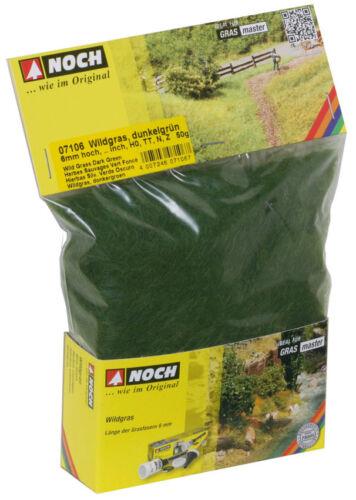 Noch 07106 Wildgras dunkelgrün 6mm