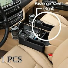 1 Pcs x Car Seat Leather Storage Box Cup holder for Passenger Side ( Right )