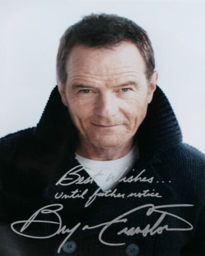 Bryan Cranston #1  8 x 10 Autograph Reprint  Breaking Bad Malcolm in the Middle