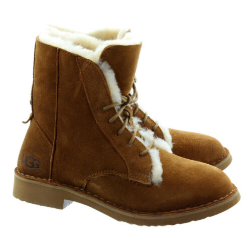 Ugg® Eu Lace Quincy Sheepskin Australia Boots 37 £165 Uk Ankle Usa Rrp 6 Up 5 4 rtvqtEwx