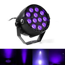 12 LED UV Black Light DMX512 Par Can Stage Lighting Disco Club Bar DJ Light Show