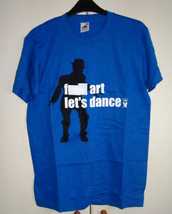 MADNESS-F-ART-LETS-DANCE-BLUE-OFFICIAL-T-SHIRT-NEW-SIZE-SMALL