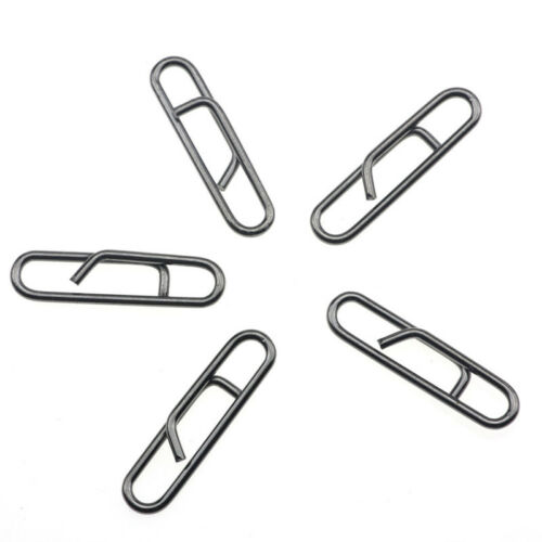 50pcs Fast Link Clip Snap Sea Boats Shore Beach Fishings Rigs Quick Change Leads