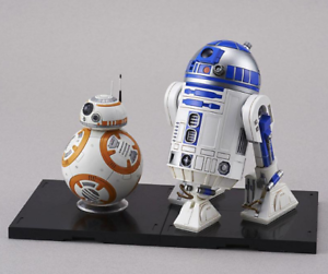 BB-8 & R2-D2 - Star Wars 1 12 Scale Kit by Bandai