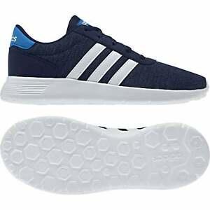 Adidas-juniors-Lite-Racer-Baskets-bleu-fonce