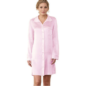 Jasmine-Ladies-039-Pure-Silk-Nightshirt