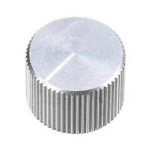 5x large knurled aluminum knob for guitar pedals amplifier silver ebay. Black Bedroom Furniture Sets. Home Design Ideas
