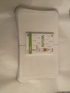 Nintendo Wii Fit Game Complete With Manual&Nintendo Wii Balance Board Tested