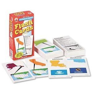 Carson-dellosa-Cd-3913-U-s-States-amp-Capitals-Flash-Card-CD3913