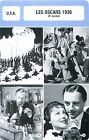 FICHE CINEMA USA LES OSCARS 1936 (9-e année)