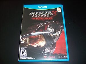 Replacement Case No Game Ninja Gaiden 3 Razor S Edge Wii U Wiiu Original Box Ebay