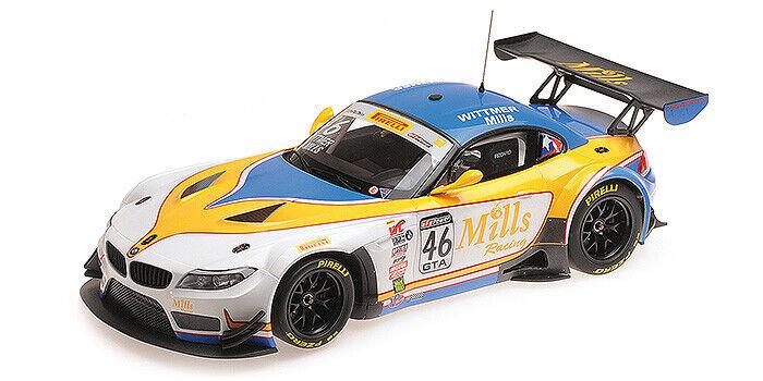 "1 18 Minichamps BMW Z4 ""16 Pirelli värld Challenge Champ Wittmer  Mills 151162346"