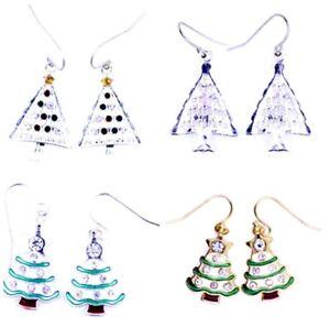 Festive-Christmas-tree-earrings-Xmas-gear-multiple-choices
