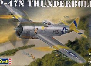 Avion-de-chasse-REPUBLIC-P-47N-THUNDERBOLT-Kit-Revell-Monogram-1-48-n-15314
