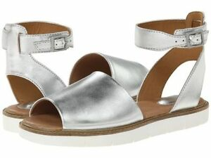 e1523d72eb5c Image is loading Clarks-Artisan-Lydie-Hala-Silver-Comfort-Flat-Leather-